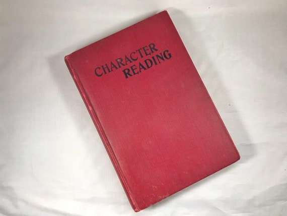 Antiquarian Book: Character Reading, Its Theory and Practice by Theron Q Dumont, New Thought, 1919