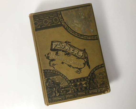 Antiquarian Book: Flowers for Mother's Grave - Compiled by John McCoy M. D. - A Collection of Poems and 'Flowers of Thought'