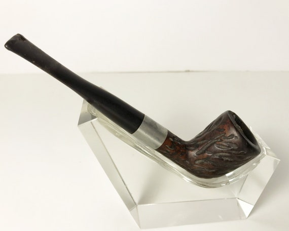Vintage Dr. Grabow Golden Duke Smoking Pipe with Imported Briar - Billiard