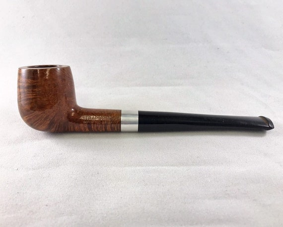 Estate Trapwell Ajustomatic Smoking Pipe with Imported Briar & Billiard Bowl and a Long Shank