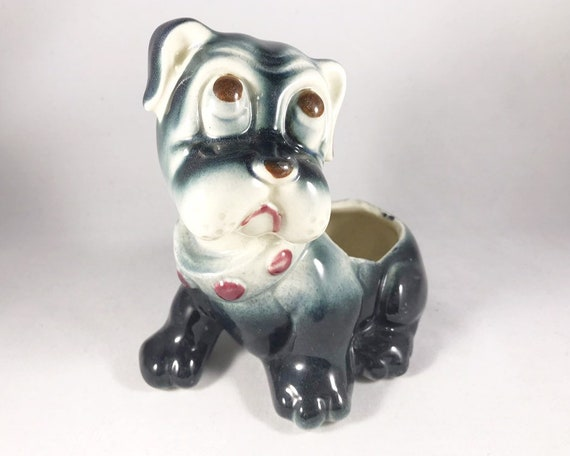 Vintage Dog Figurine or Planter