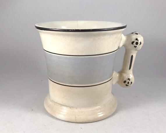 Antique J & E Mayer Warranted Stone China Shaving Mug