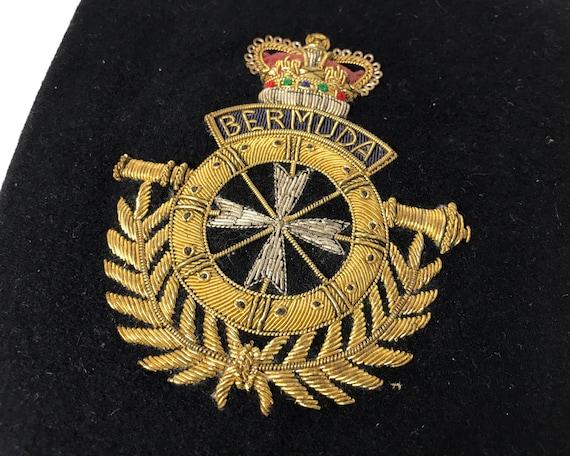 Vintage Embroidered Bermuda Crest or Emblem