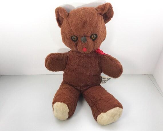 Vintage Knickerbocker Wind Up Musical Teddy Bear - Plush Toy - Shabby Cute! - Animals of Distinction