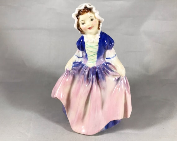 "Vintage Royal Doulton Bone China ""Dinky Do"" by Leslie Harradine HN1678"