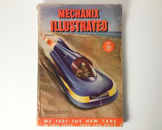 Vintage Mechanix Illustrated Magazine, February 1946