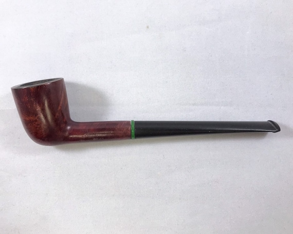 Estate Smoking Pipe with Genuine Italian Briar & Dublin Bowl and a Long Shank
