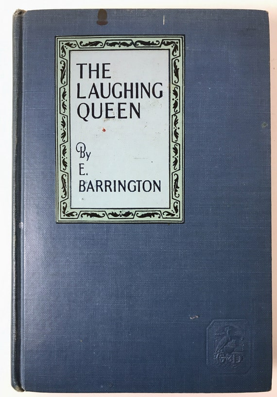 The Laughing Queen by E. Barrington - FIRST EDITION - The Story of Cleopatra
