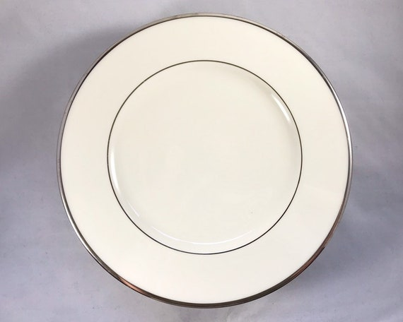 Vintage Lenox China - Montclair Platinum Salad Plate