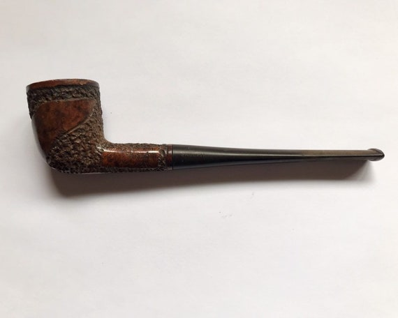 Vintage S. M. Frank Smoking Pipe with Real Briar - Dublin with Long Shank (?)