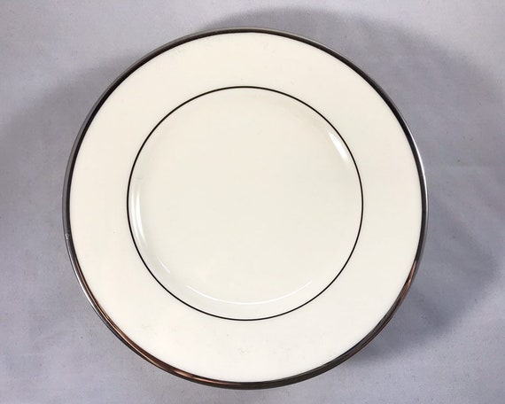 Vintage Lenox China - Montclair Platinum Bread & Butter Plate