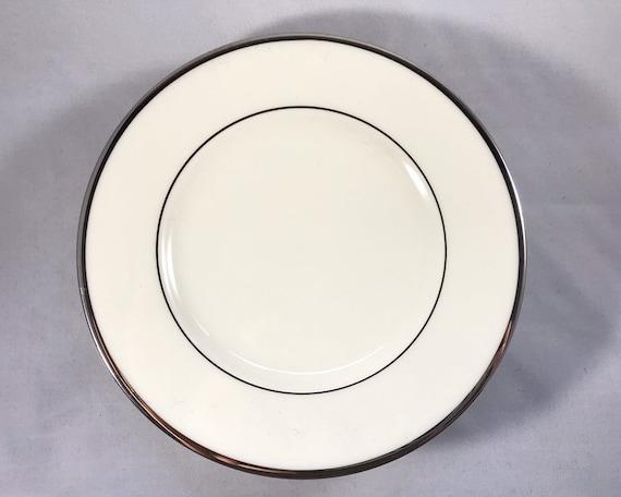 Vintage Lenox China - Montclair Platinum Bread & Butter Plate