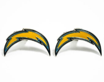 Los Angeles Chargers Cuff Links -- FREE Shipping with USPS First Class Domestic Mail LA