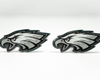 Philadelphia Eagles Cuff Links -- FREE SHIPPING with USPS First Class Domestic Mail