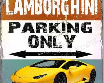 Lamborghini Signs Etsy