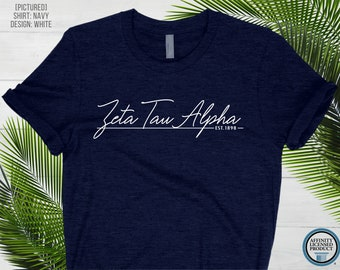 Custom Sorority Shirt   Greek Unisex T-Shirt   Greek Letters   Greek Life Tee   Bid Day   Big Little Reveal Shirts   Custom Sorority Gift