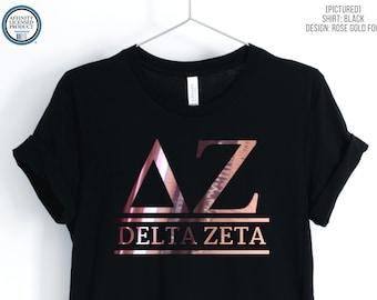 Custom Sorority Shirt | Greek Unisex T-Shirt | Greek Letters | Greek Life Tee | Bid Day | Big Little Reveal Shirts | Custom Sorority Gift