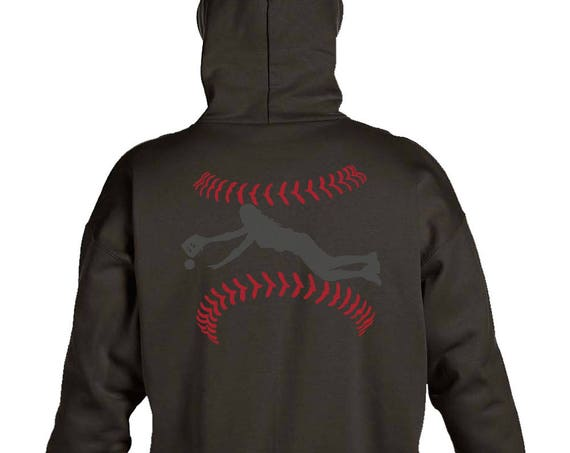 Hanes Heavyweight Pullover Hoodie With Back Print Layout Fielder