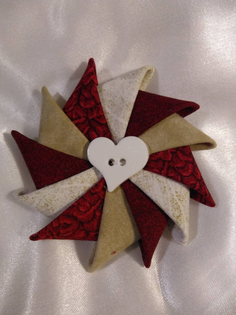 Valentine's Day Pin Pinwheel Pin for Valentine's Day image 0