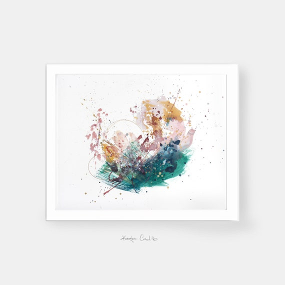 Abstract Art Print Instant Download Colorful Abstract Painting Simple Modern Home Decor Wall Art Paint Splatter Large Scale Prints