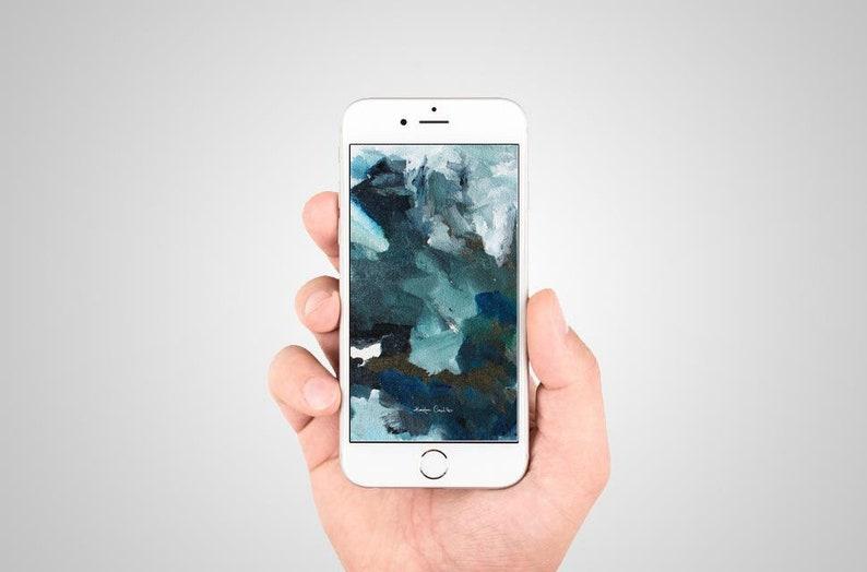 Telefono Cellulare Sfondo Schermata Di Blocco Schermata Di Etsy