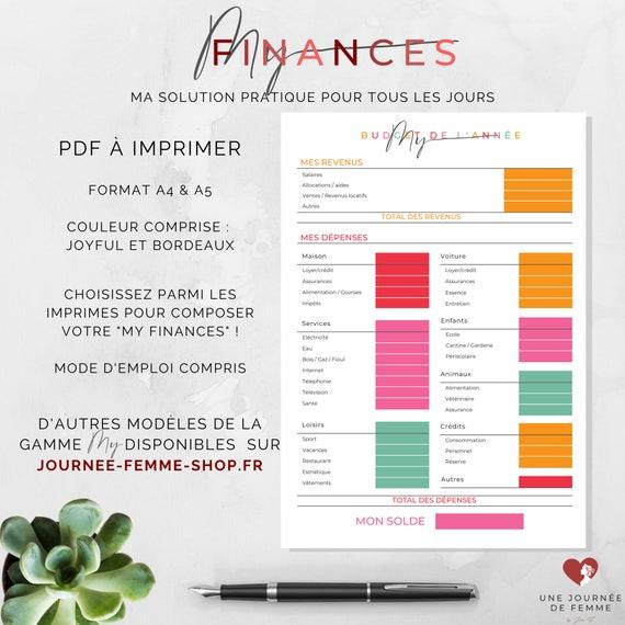 """Gamme """"My"""" : """"My Finances"""" ensemble d'imprimés de la gamme """"My"""" {Téléchargement numérique}"""