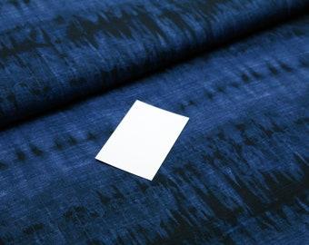 Schrägband Einfassband Borte Bordüre blau mit weißen Punkten 18 mm dunkelblau