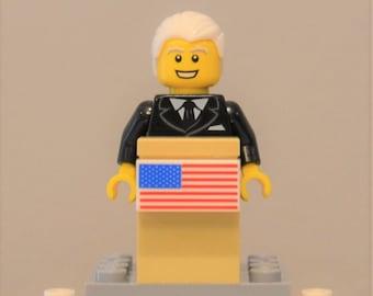 Custom President Joe Biden Minifigure