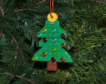 Christmas Tree Ornament Kit - Build Your Own with LEGO® Bricks