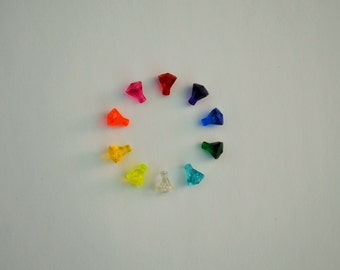 LEGO Jewels Crystals Gems Diamonds 10