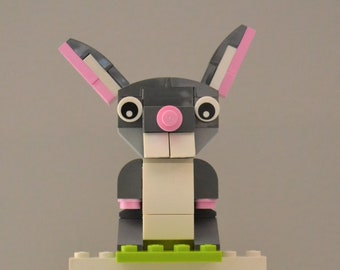 Easter Bunny - Build Your Own with LEGO® Bricks