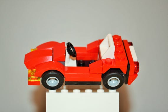 Build Your Car >> Lego Sports Car With Instructions Build Your Own