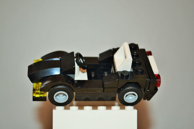Lego Sports Car With Instructions Build Your Own Etsy
