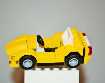LEGO Sports Car with Instructions - Build Your Own!