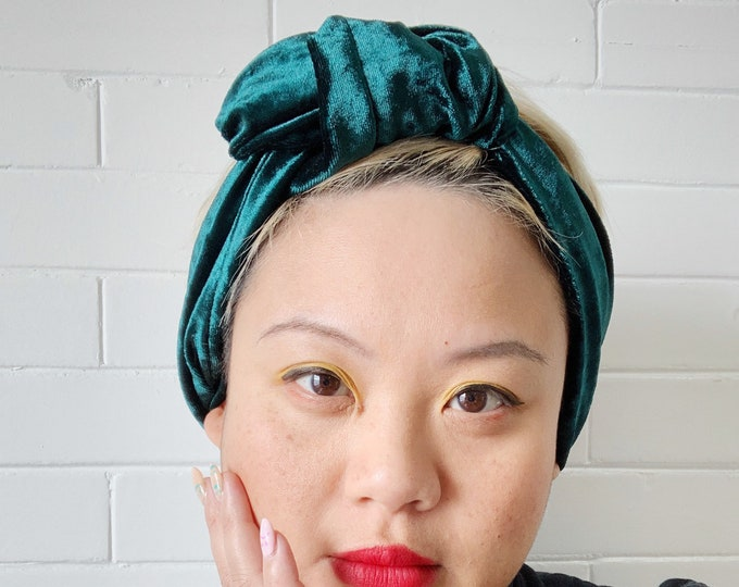 Emerald Signe- Adjustable Headwrap