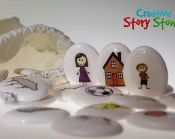 Original Home Life set - Creative story stones - FREE standard shipping within Australia