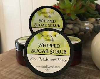 Whipped Sugar Scrub