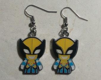 Superhero Inspired earrings