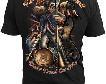 a2ed2dc3 Black Ink Men's 2nd Amendment T-Shirt (MT620)