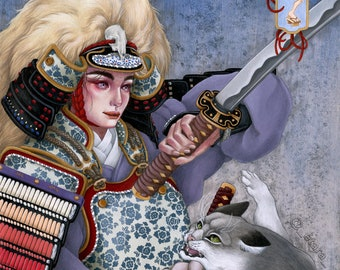 Limited Edition Print - Warrior of Dawn