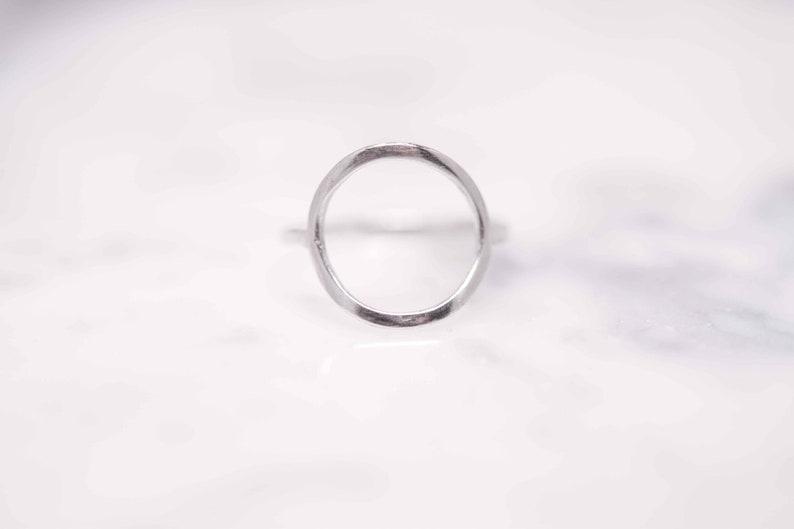 Karma Ring Negative Space Ring