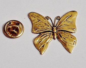 c18cfe530bb Amazing Details BUTTERFLY Lapel Pin Tack Pin /E9