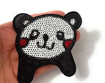 Sequin Love Patch Iron On Patch Embroidered Patch Jacket Patch Clothes Patch Applique  75