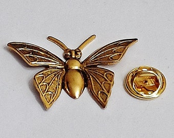 e820846a7de Amazing Details butterfly Lapel Pin Tack Pin /D1