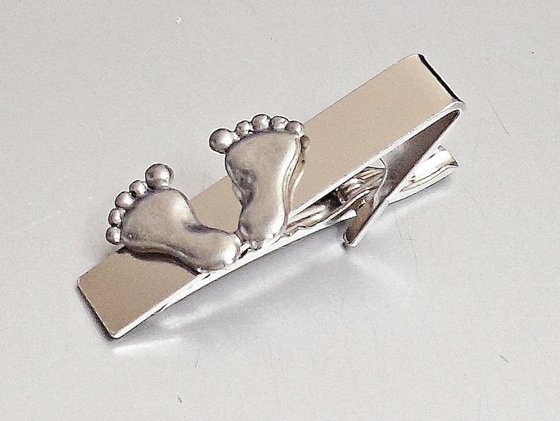 Tie bar  E14 Amazing BABY FOOT Tie CLIP Pins