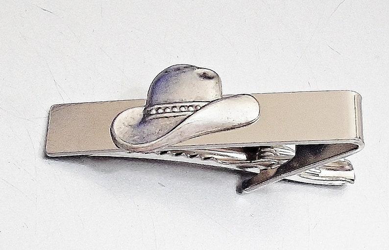 Amazing WESTERN HAT Tie CLIP Pins Tie bar E11