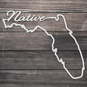 Florida HOME vinyl decal