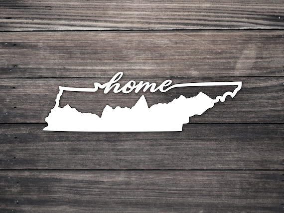 State of Tennessee Home Decal
