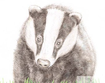 Badger - Blank Card