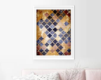 Moroccan Wall Art, Wall Art, Moroccan Print, Prints, Boho Print, Abstract  Art, Art Prints, Travel Art, Moroccan, Moroccan Pattern, Morocco